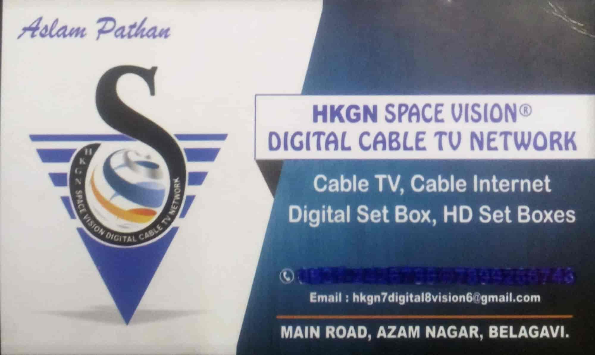 HKGN Space Vision Digital Cable Tv Network, Azam Nagar Belgaum