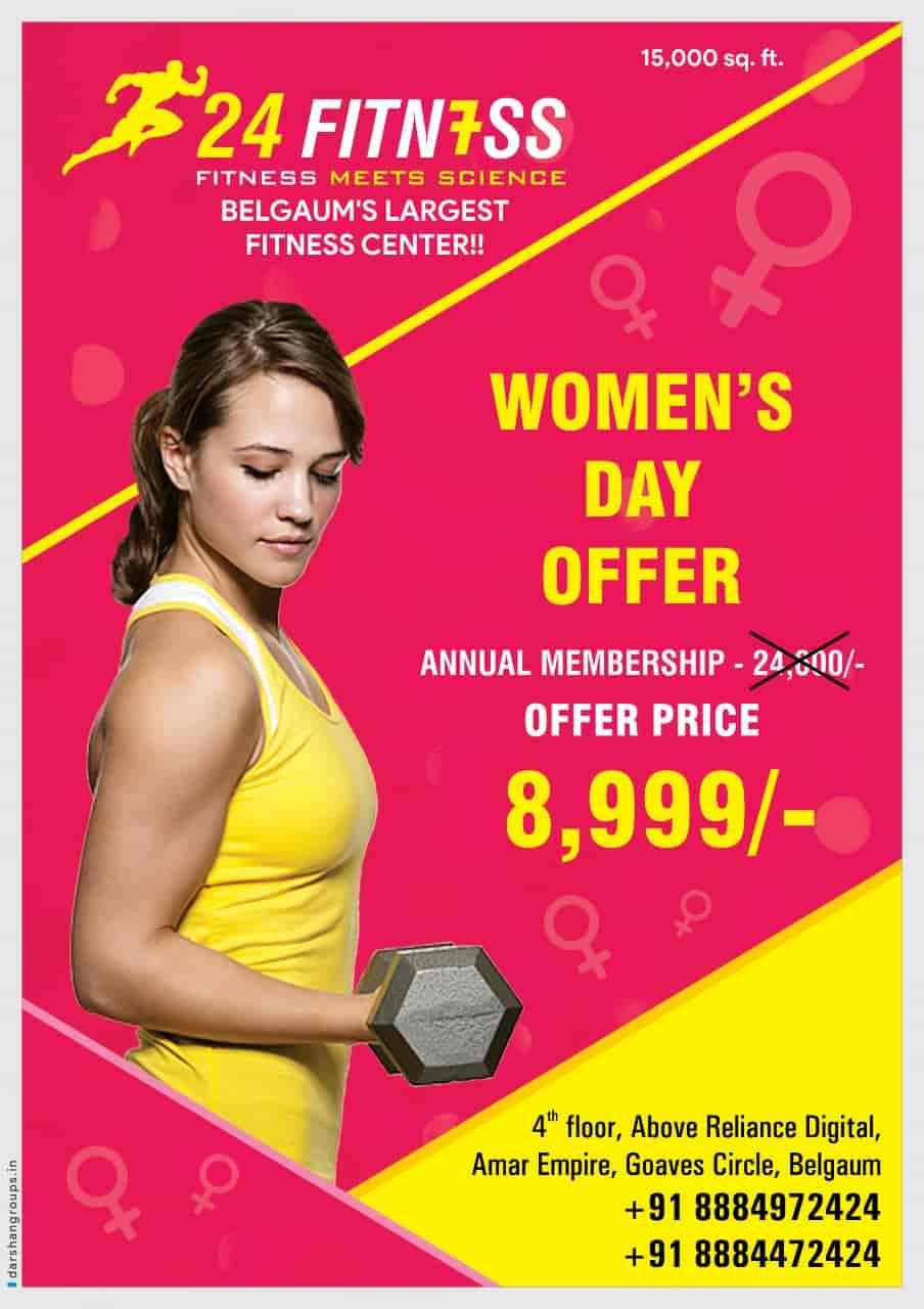 24 Fitness, Goavesh - Gyms in Belgaum - Justdial