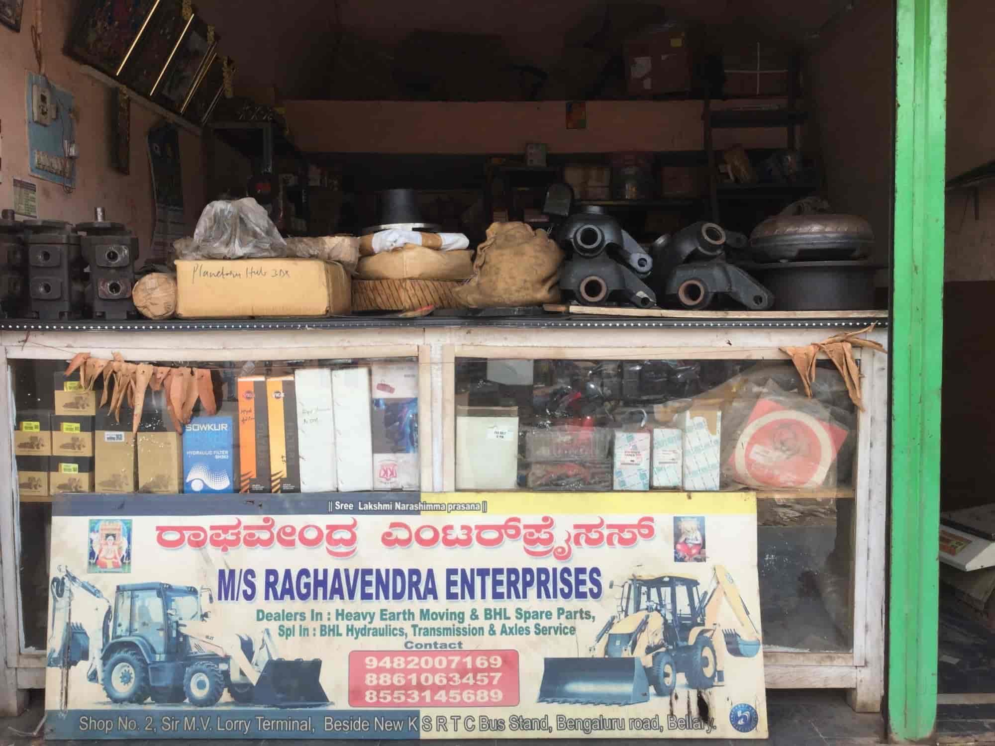 Raghavendra Enterprises, Bangalore Road Bellary - Earthmover