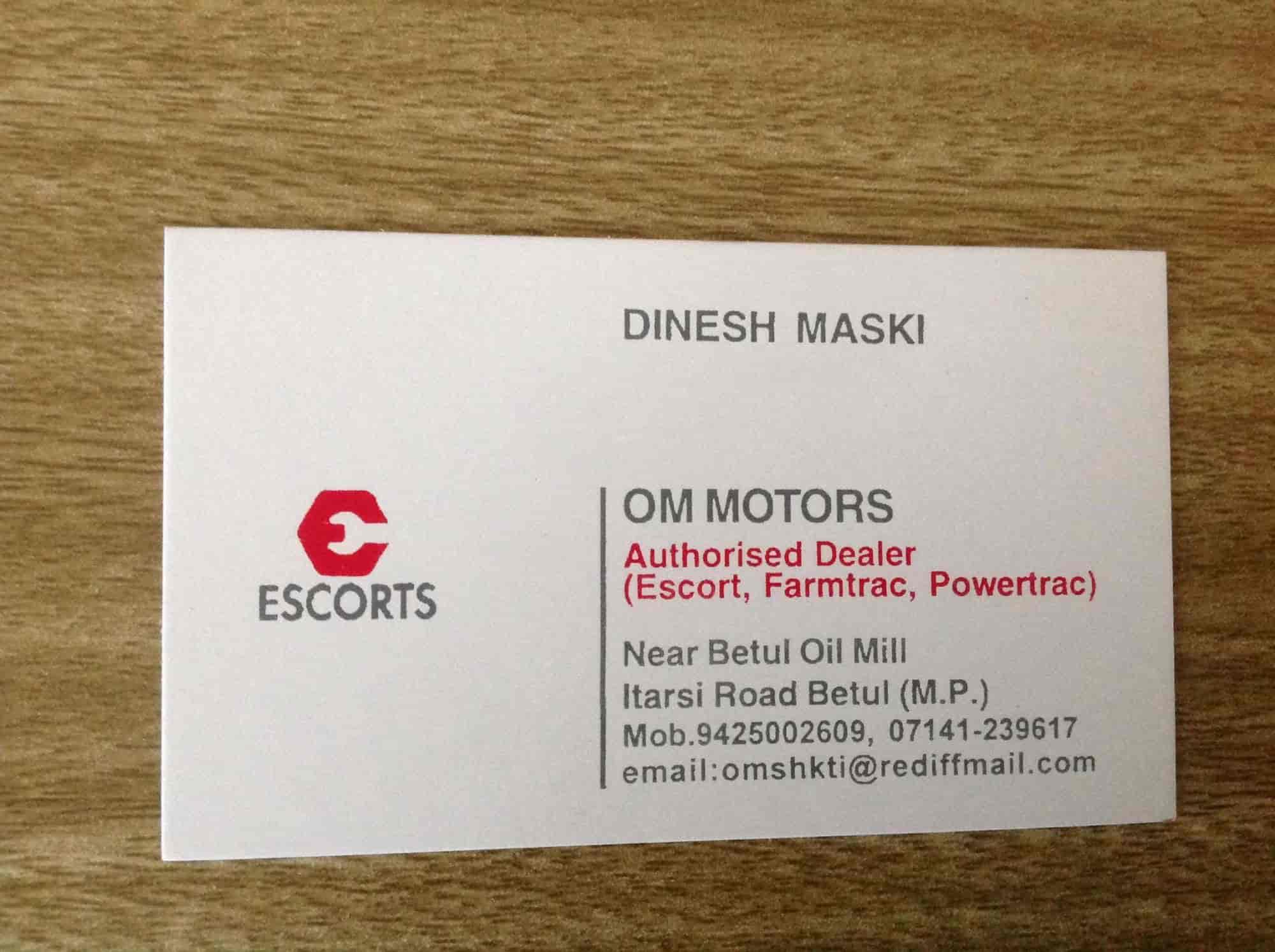 Om Motors - Tractor Dealers in Betul - Justdial