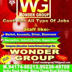 Wonder Group Job Placement, Near Mehna Chowk - Placement Services