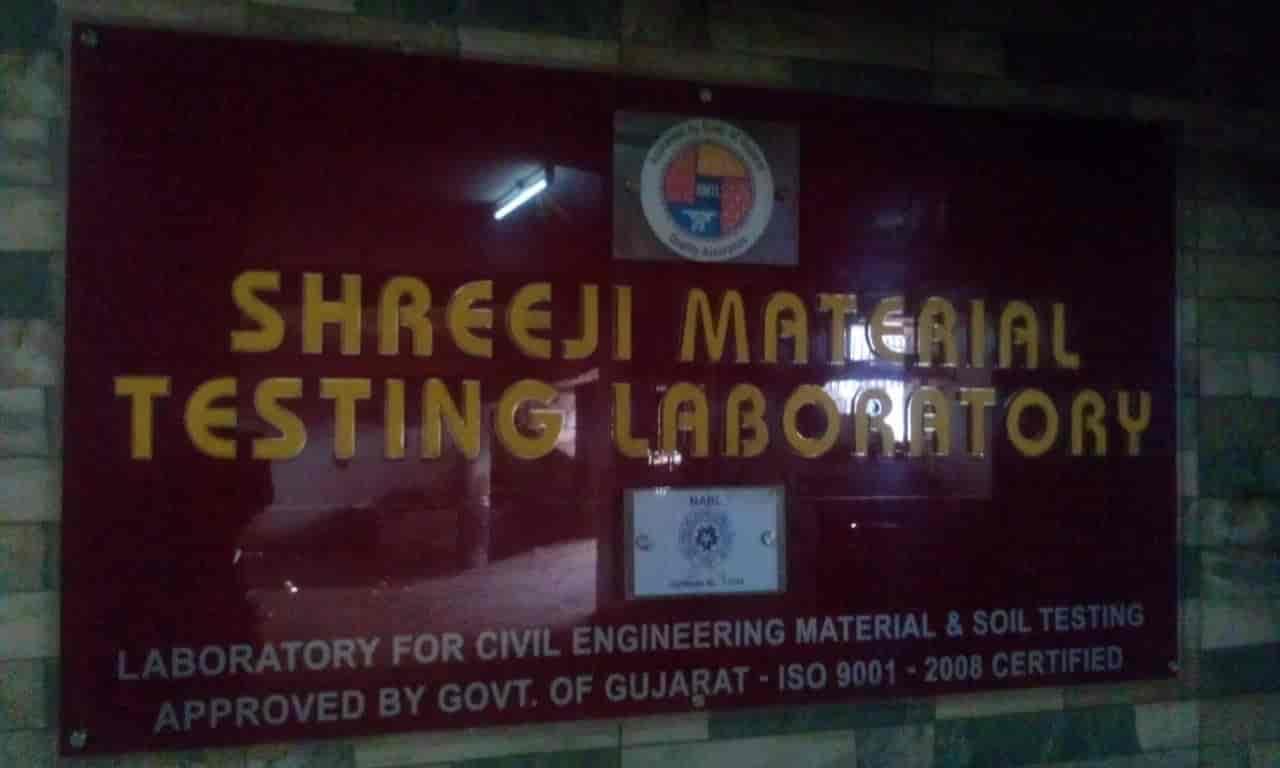 Shreeji Material Testing Laboratory, Kalanala - Laboratory Testing