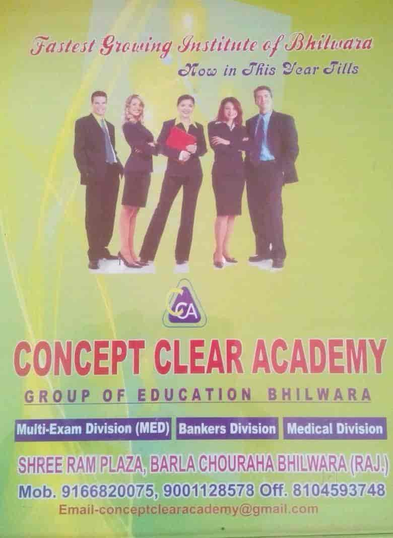 Concept Clear Academy, Badla Chouraha - Tutorials in Bhilwara - Justdial