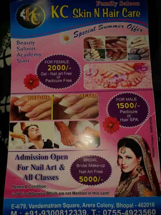 Kc Skin N Hair Care Beauty Academy Photos Arera Colony Bhopal