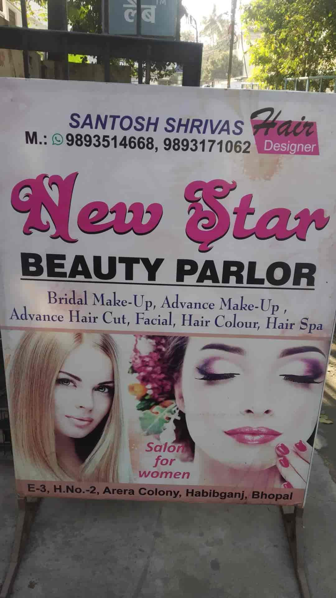 New Star Beauty Parlour, Arera Colony - Beauty Parlours in Bhopal