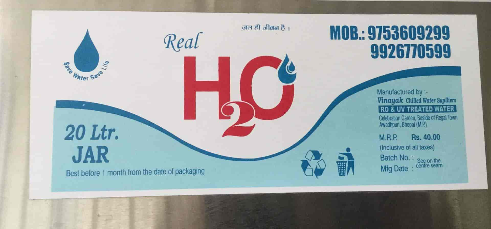 Real H2O, Awadhpuri - Drinking Water Suppliers in Bhopal
