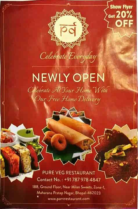 Parv Fastfood Restaurant Photos, M P Nagar, Bhopal- Pictures