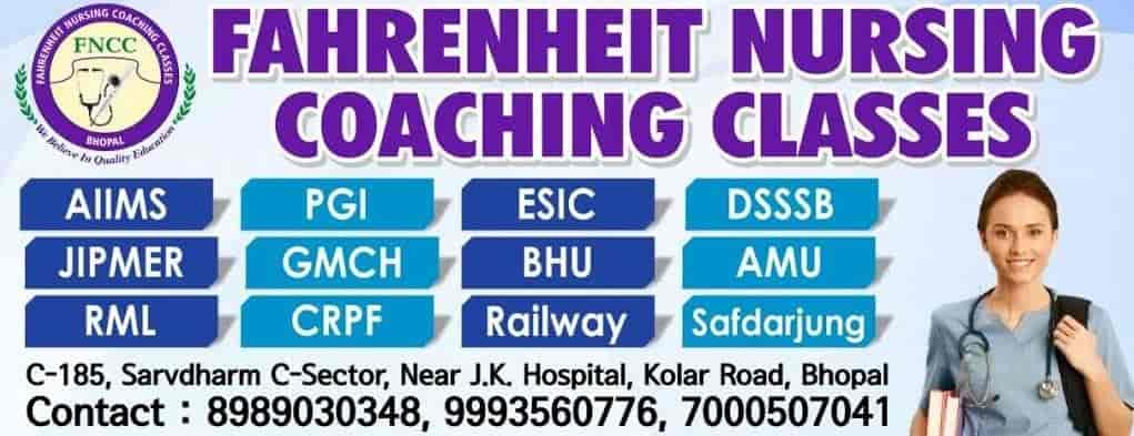 Pro Fahrenheit Nursing Coaching Classes, Kolar Road