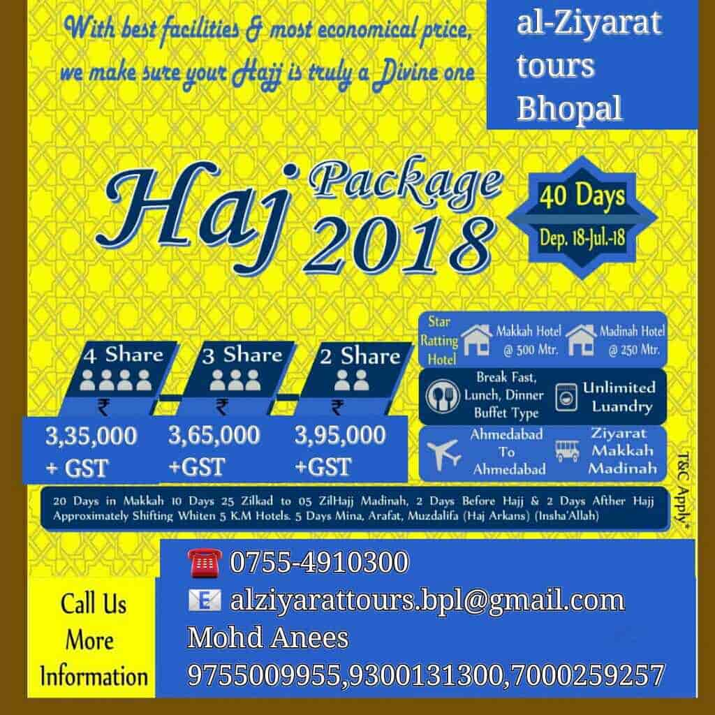 Al Ziyarat Tours Travels, Sultania Road - Tour Packages For