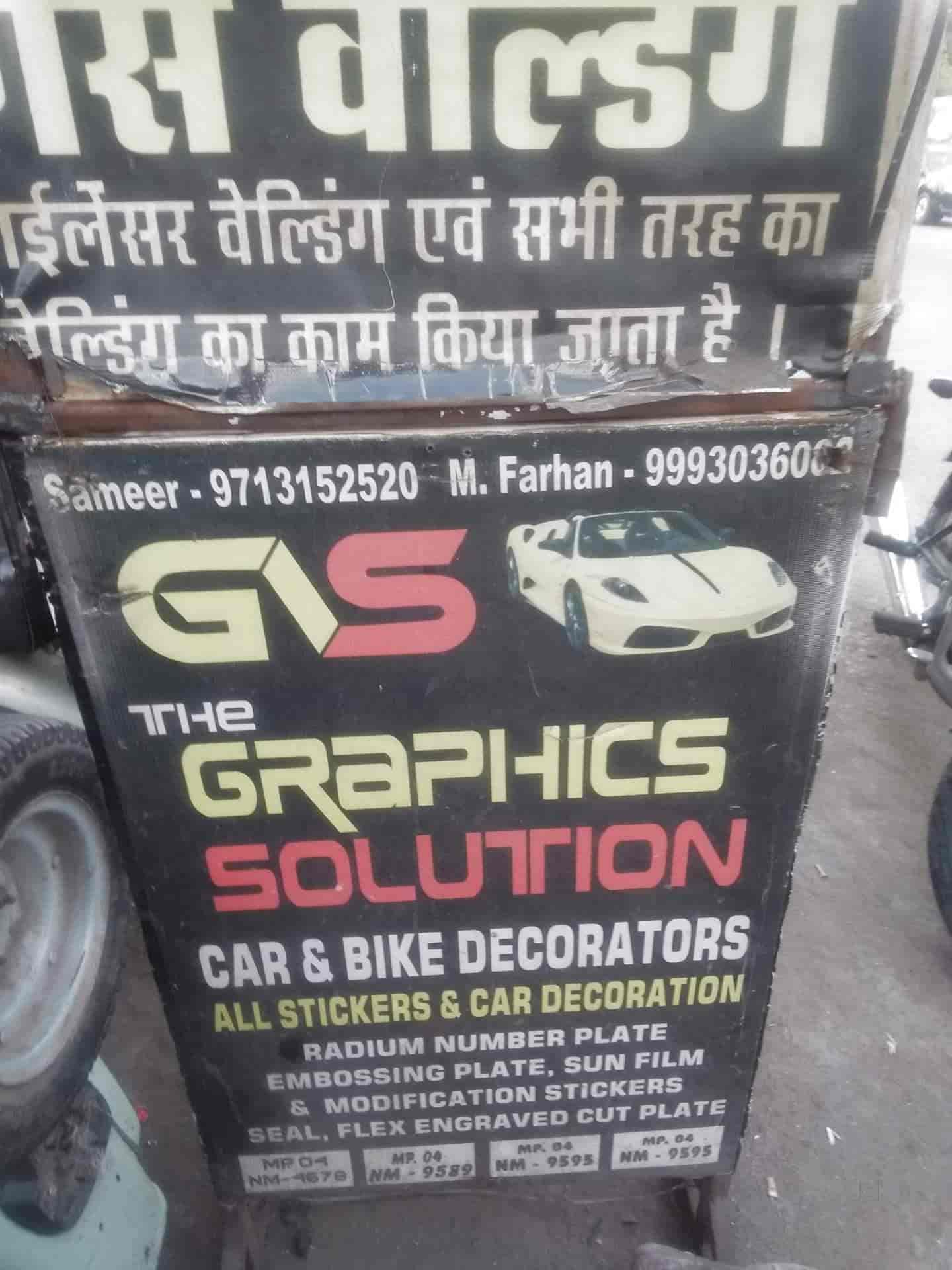 The Graphic Solution, Subhash Nagar - Adhesive Label Sticker
