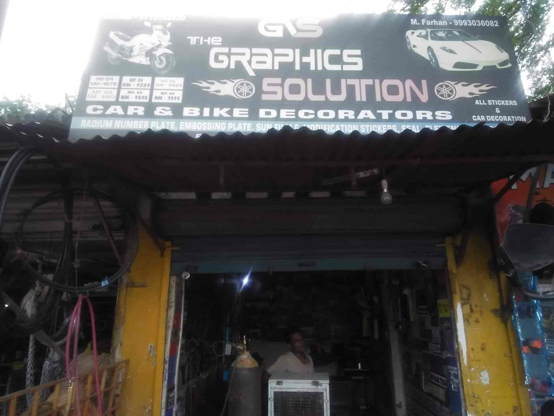 The Graphic Solution, Subhash Nagar - Adhesive Label Sticker