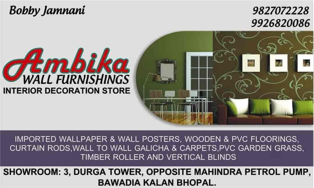 Superior Ambika Wall Furnishings, Bawadia Kalan   PVC Flooring Dealers In Bhopal    Justdial