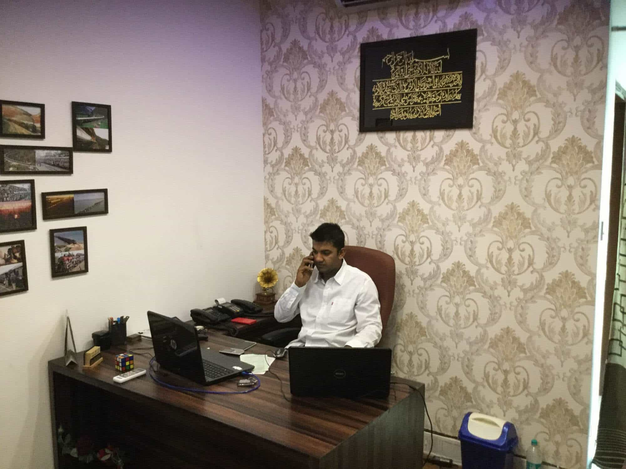 ... Inside View of Travel Agent Office - INAM TRAVELS Photos, Peergate, Bhopal - Railway