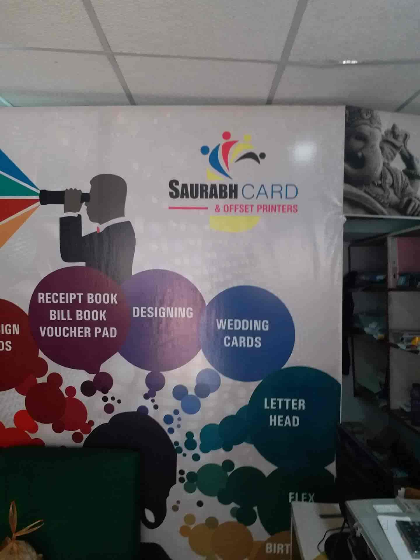 Saurabh Cards & Offset Printers, Kolar Road - Printing Press in