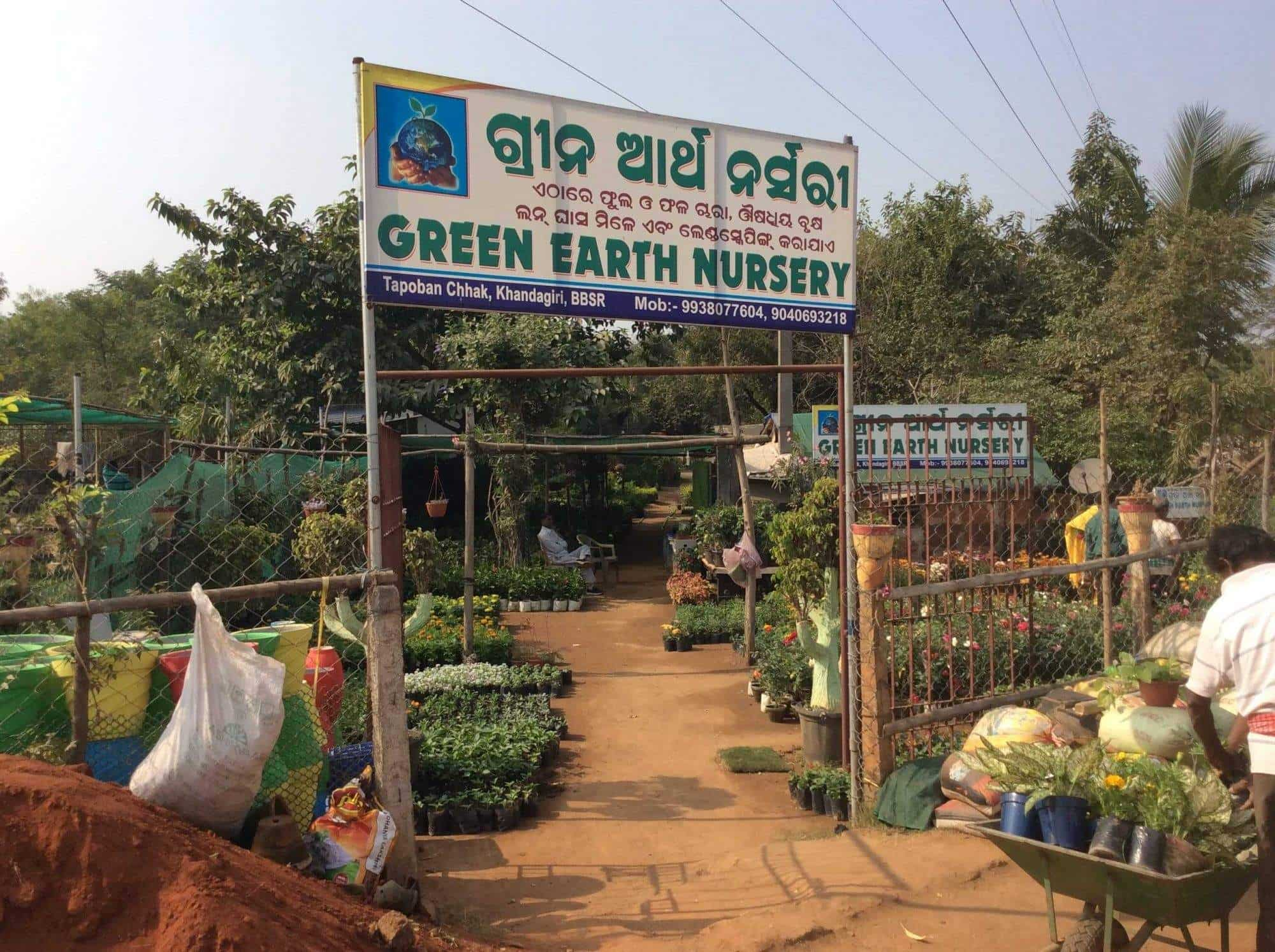 Green Earth Nursery, Khandagiri - Plant Nurseries in Bhubaneshwar ...