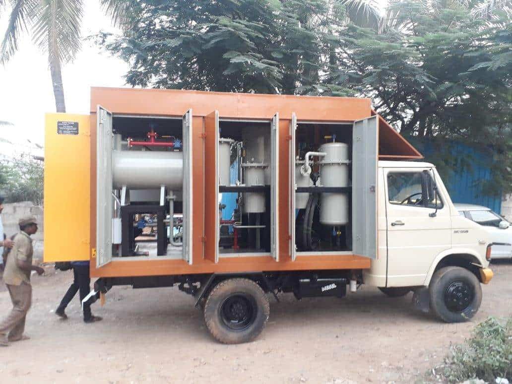Fault Locating Truck : Universal project and maintenance khandagiri cable fault