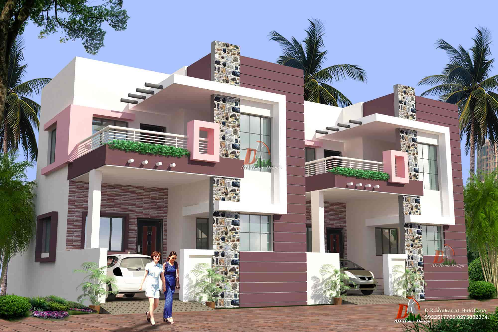 ... DK 3 D Home Design Photos, Buldana H O, Buldhana   Architects ...
