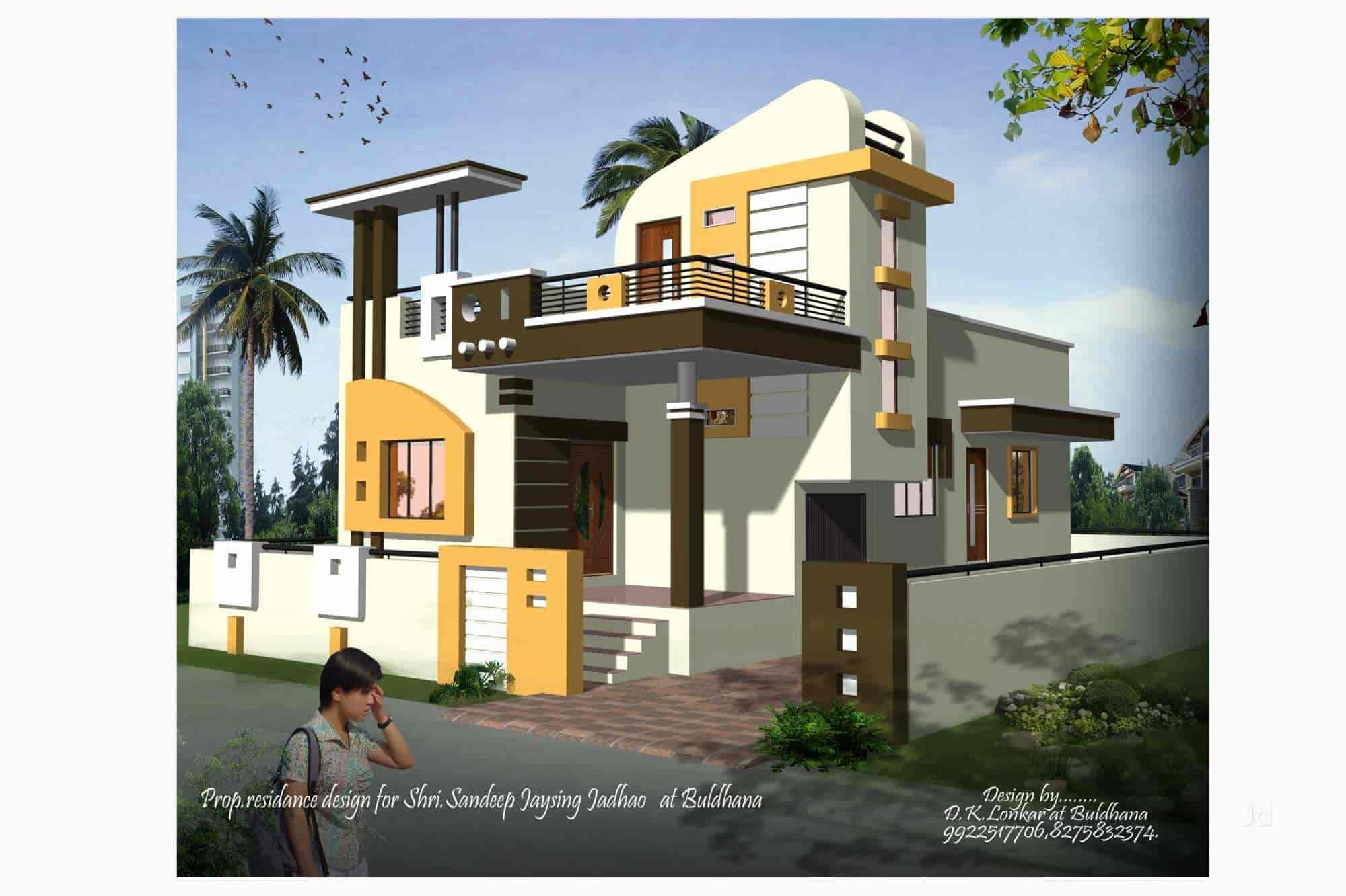 ... Architects Design   DK 3 D Home Design Photos, Buldana H O, Buldhana    Architects ...