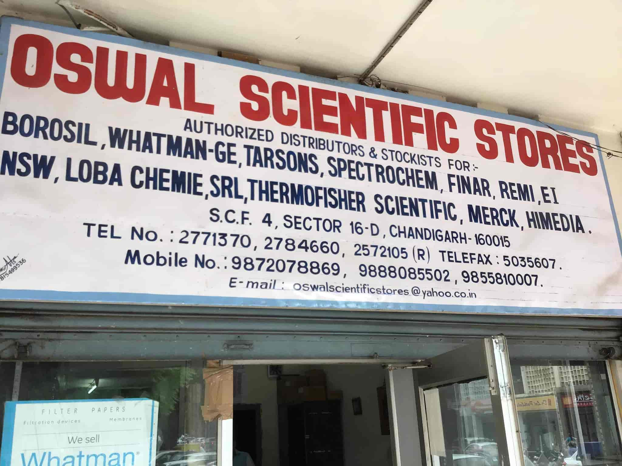 Oswal Scientific Store, Sector 16d - Medical Equipment