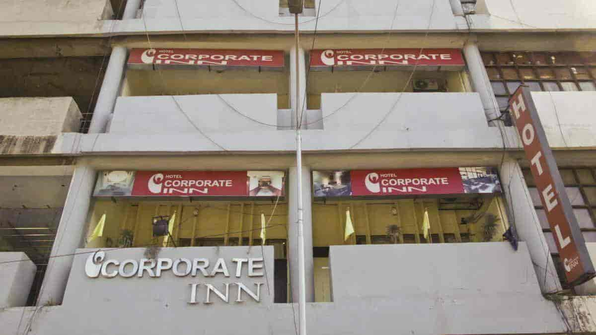 Front View Corporate Inn Hotel Photos Sector 17 Chandigarh 3 Star Hotels