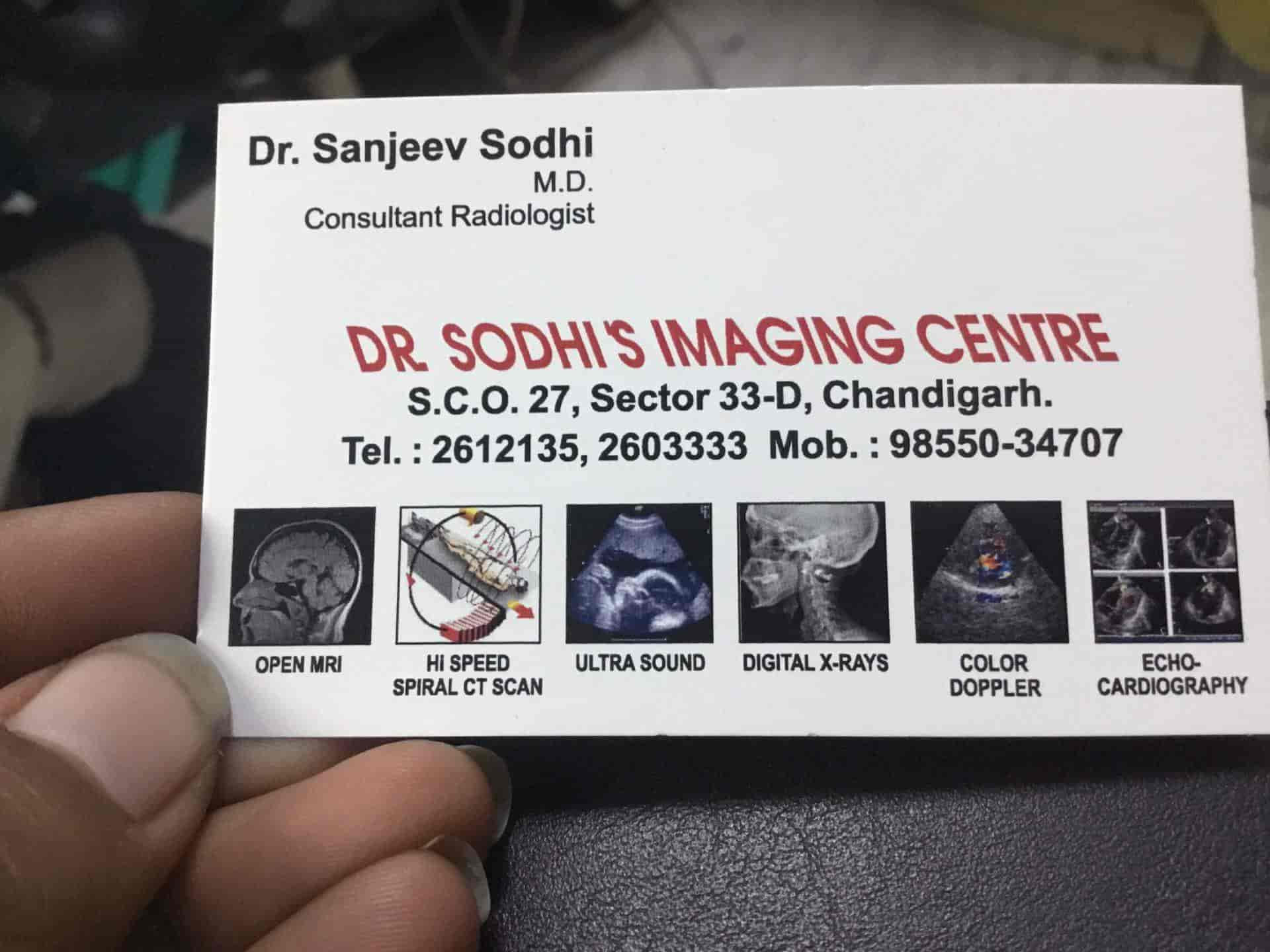 Dr  Sodhi Mri & Ct Scan Centre, Chandigarh Sector 33d - CT