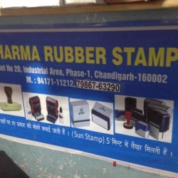 Sharma Rubber Stamps, Industrial Area Phase I - Computerised Rubber