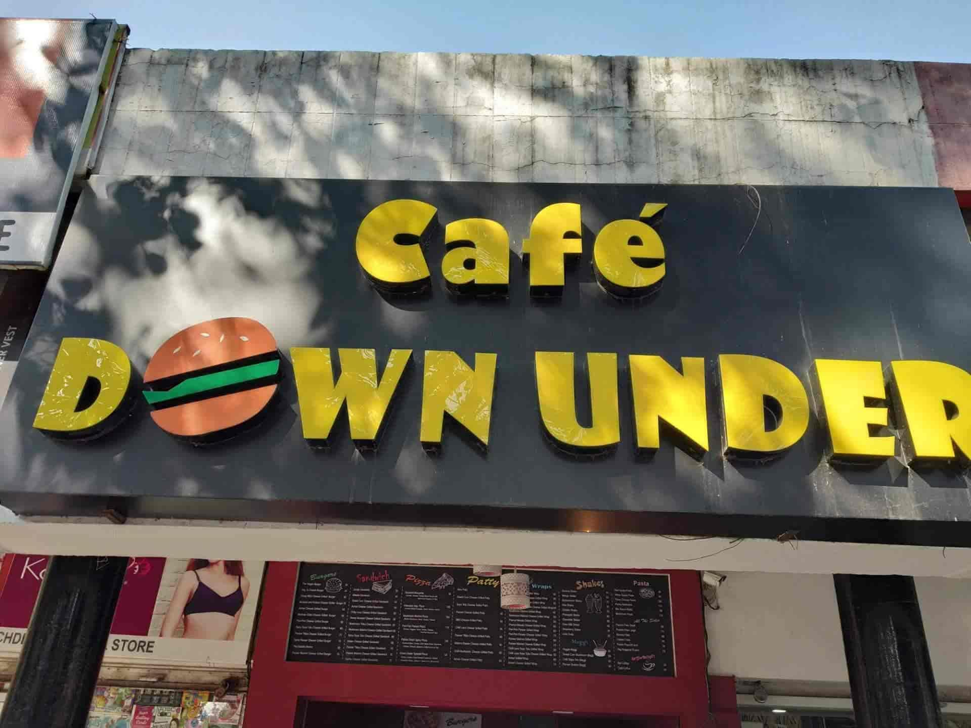 Cafe Down Under, Chandigarh Sector 31d, Chandigarh