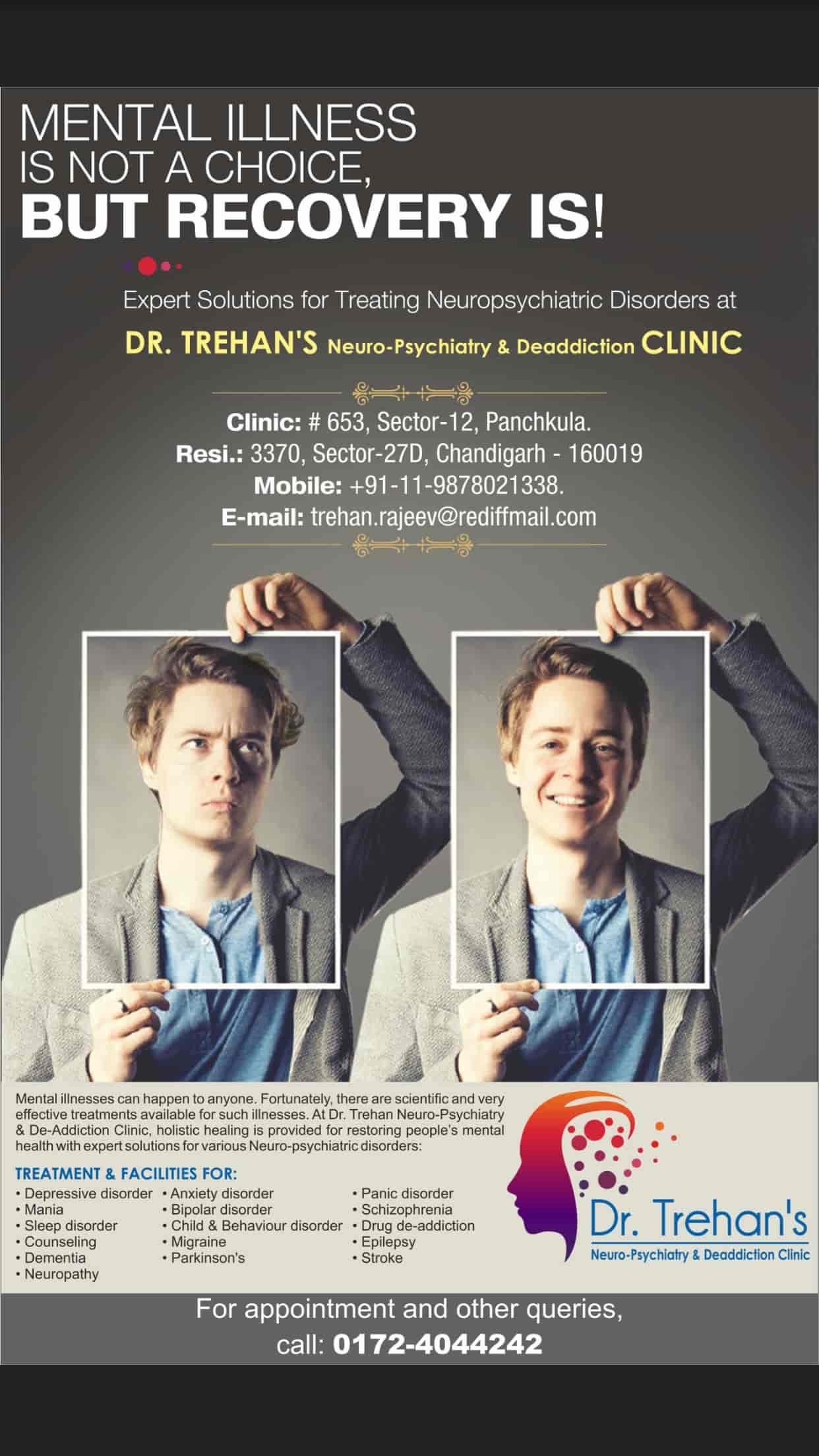 Dr  Rajeev Trehan MD Psychiatry - Psychiatrists - Book