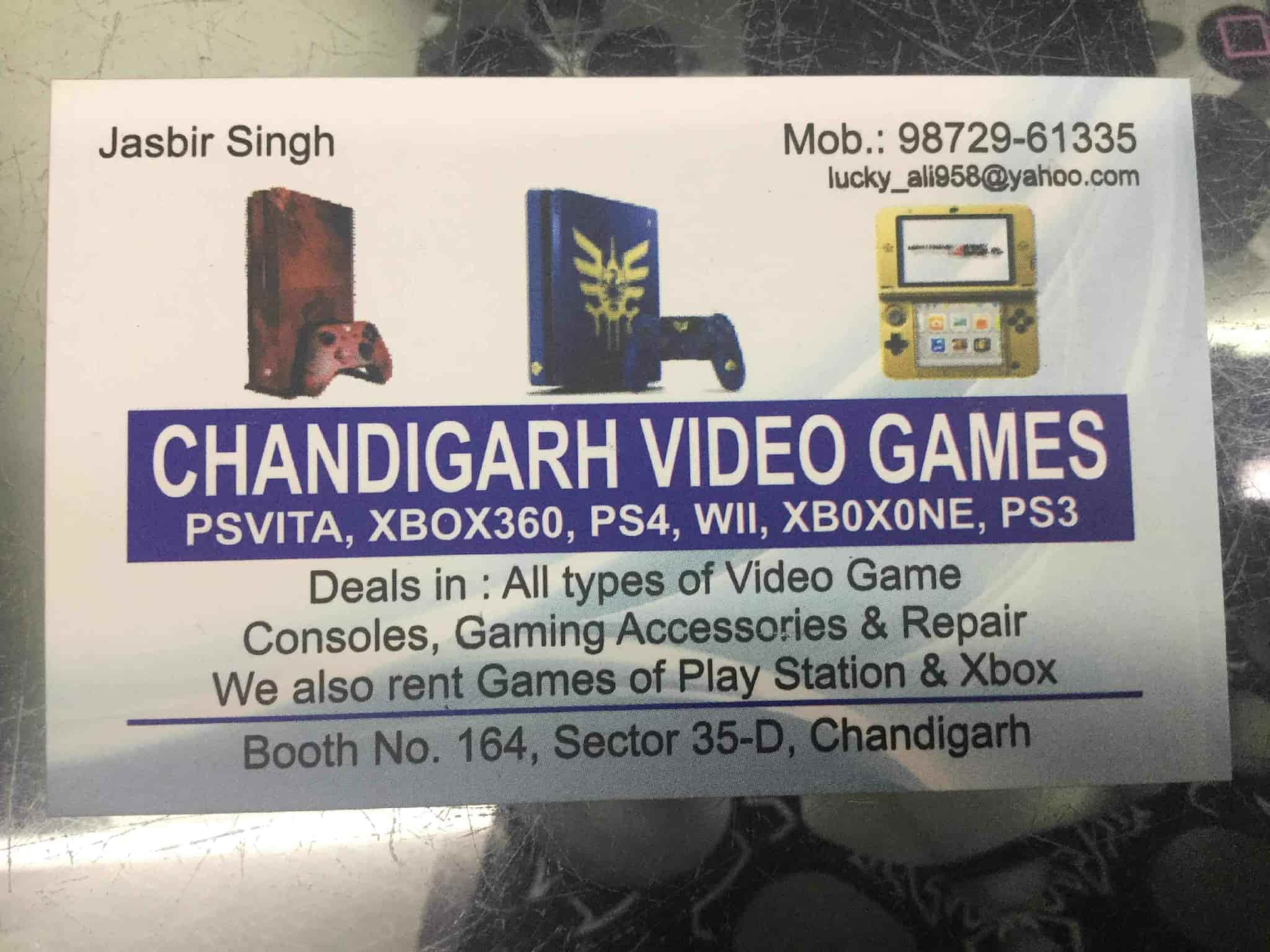 Chandigarh Video Games, Chandigarh Sector 35d - Memory Card