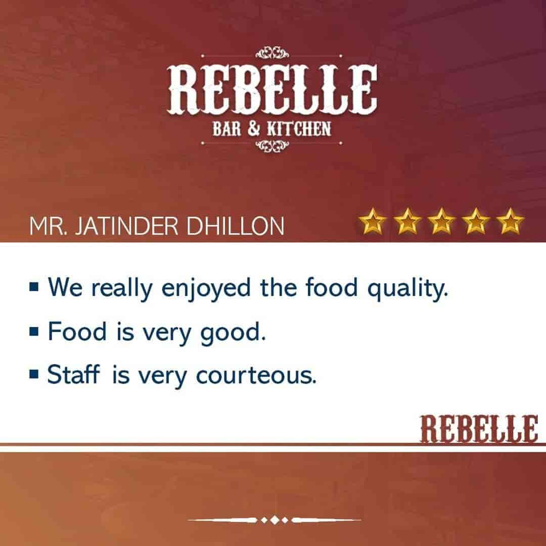 Rebelle Sector 7 Chandigarh North Indian Restaurants Justdial