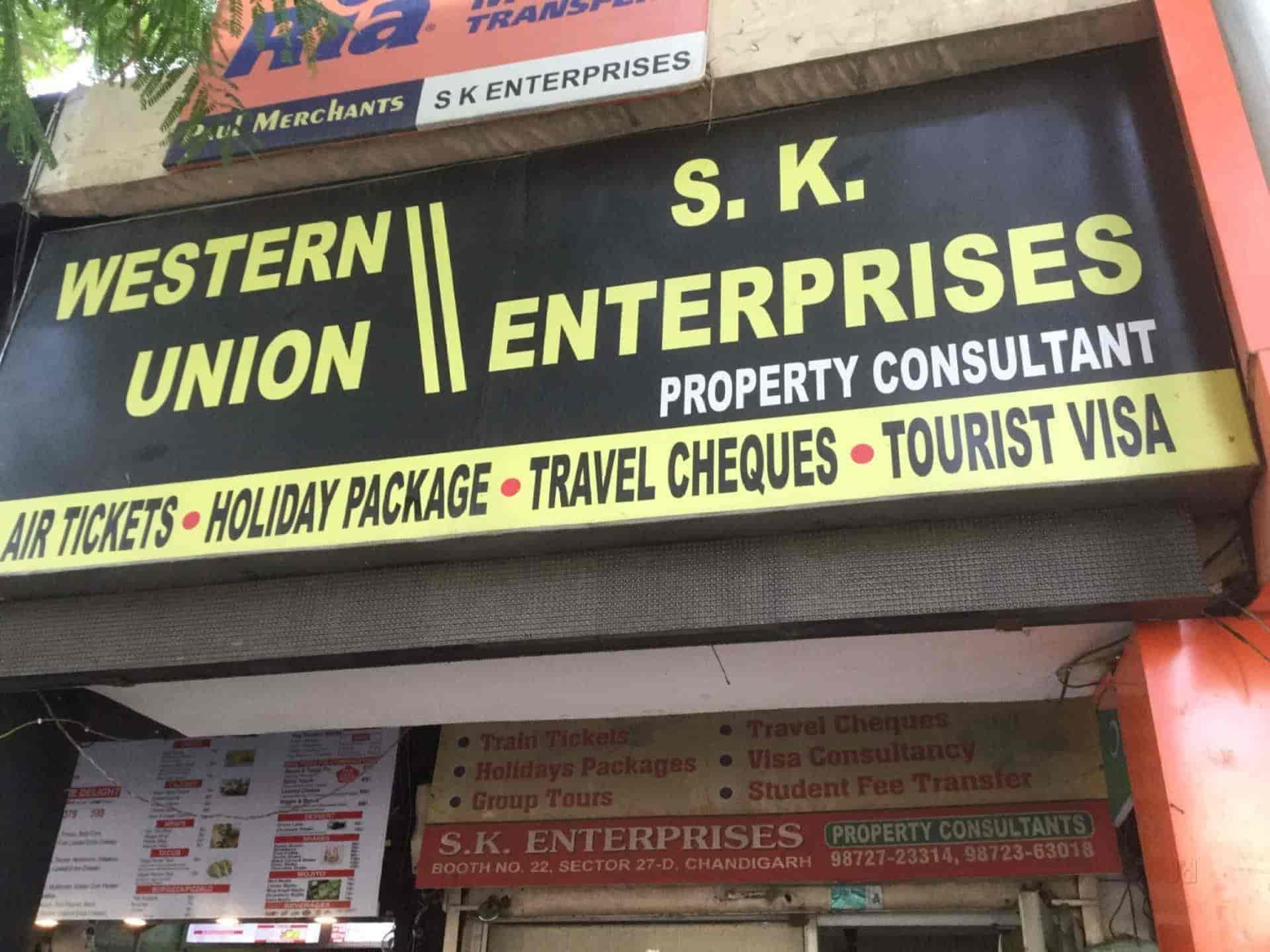 S K Enterprises, Chandigarh Sector 27d - Travel Agents in