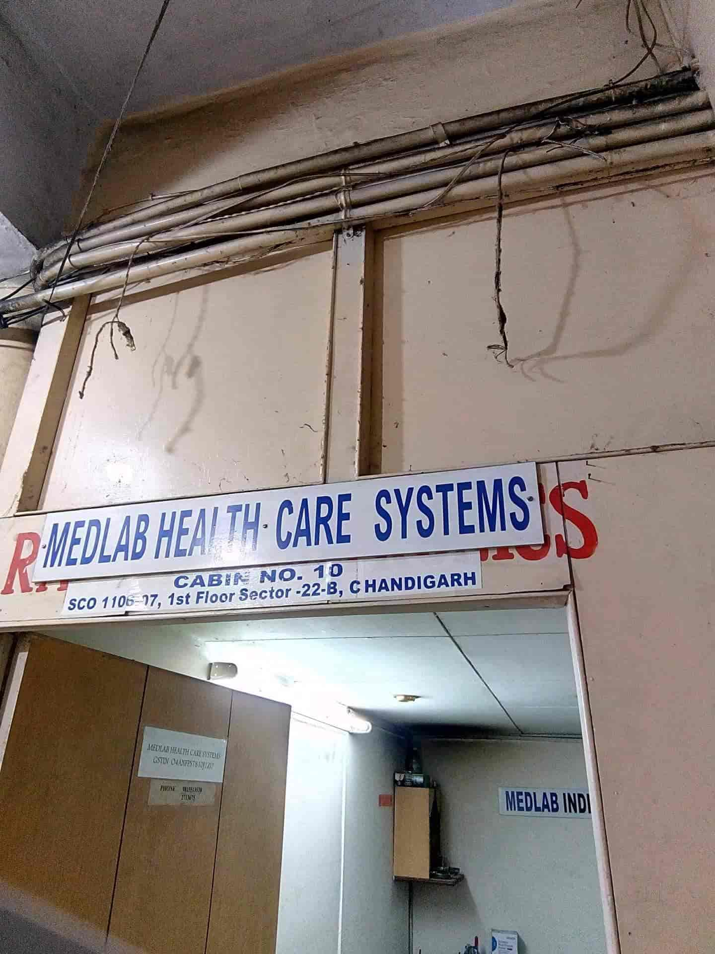 Medlab Health Care Systems, Sector 22 - Medical Equipment