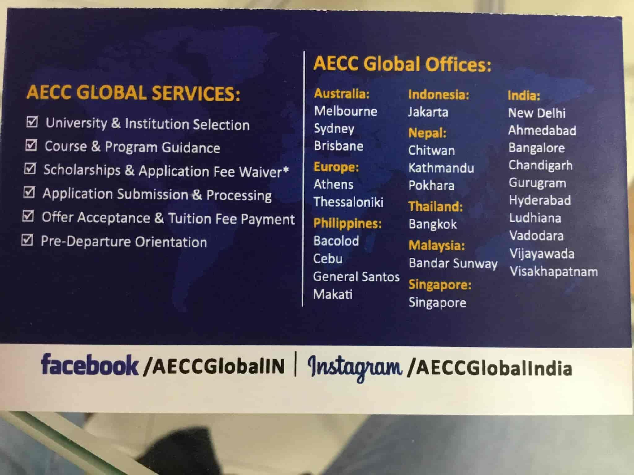 Aecc INDIA Pvt Ltd, Chandigarh Sector 8c - Student Visa