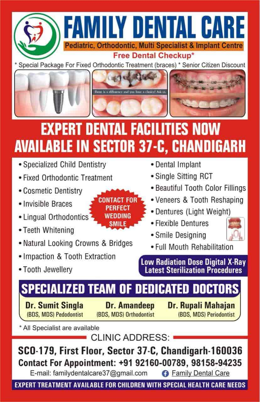Family Dental Care Photos, Sector 37c, Chandigarh   Dentists ...