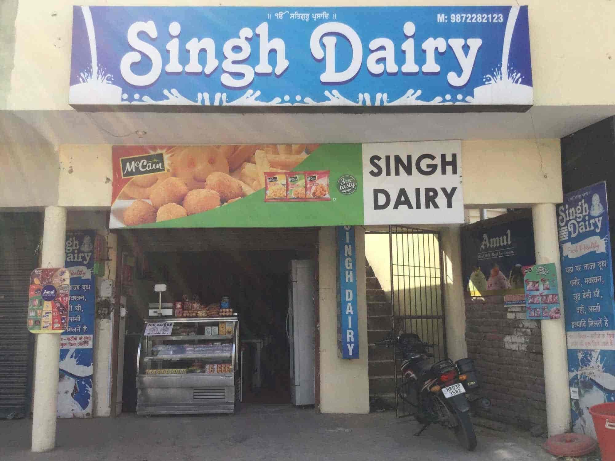 Singh Dairy, Zirakpur HO - Dairy Product Retailers in