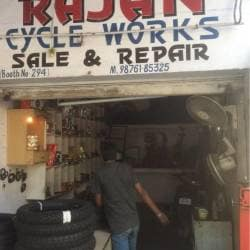 Rajan cycle works, Chandigarh Sector 37d - Bicycle Repair & Services