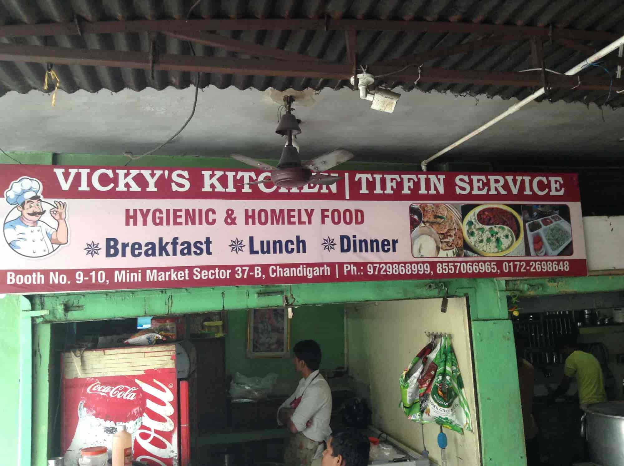 Vickys Kitchen Chandigarh Sector 37b Tiffin Services In