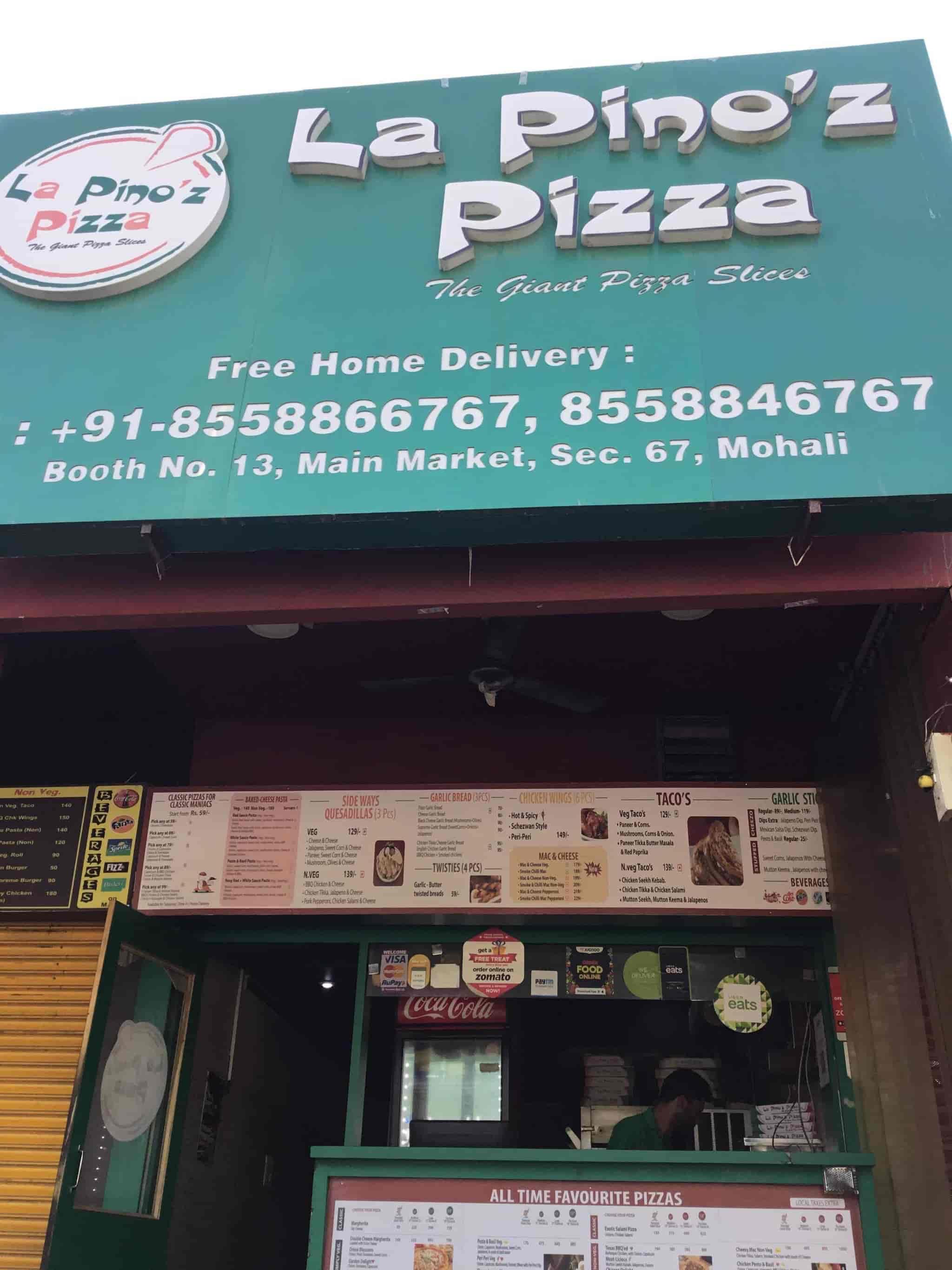 La Pino'z Pizza, MOHALI SECTOR 67, Chandigarh - Pizza