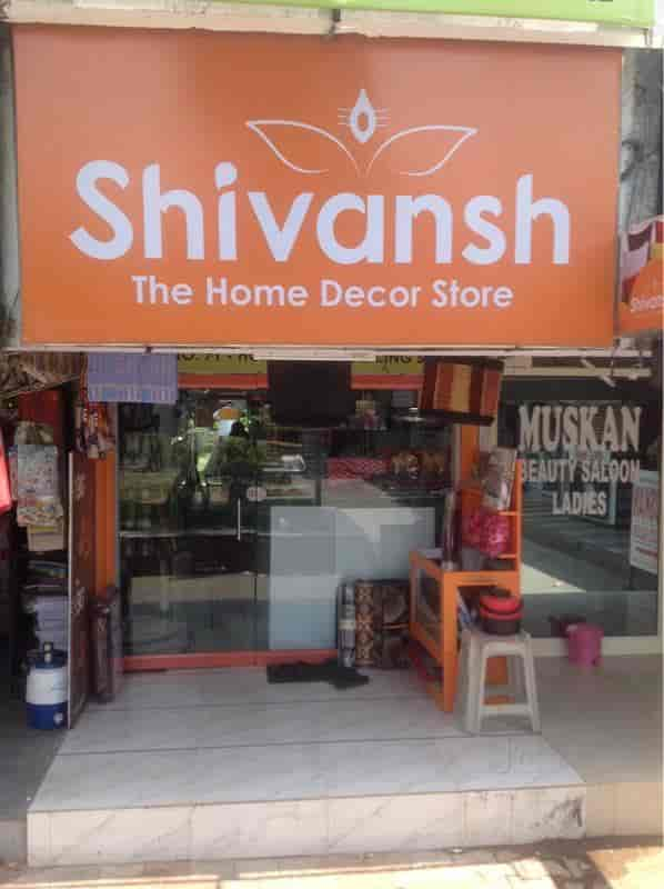 Front View Of Home Furnishing Shop