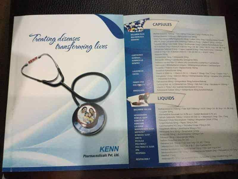 Kenn Pharmaceuticals Pvt Ltd , Near Meena Bazaar - Marketing