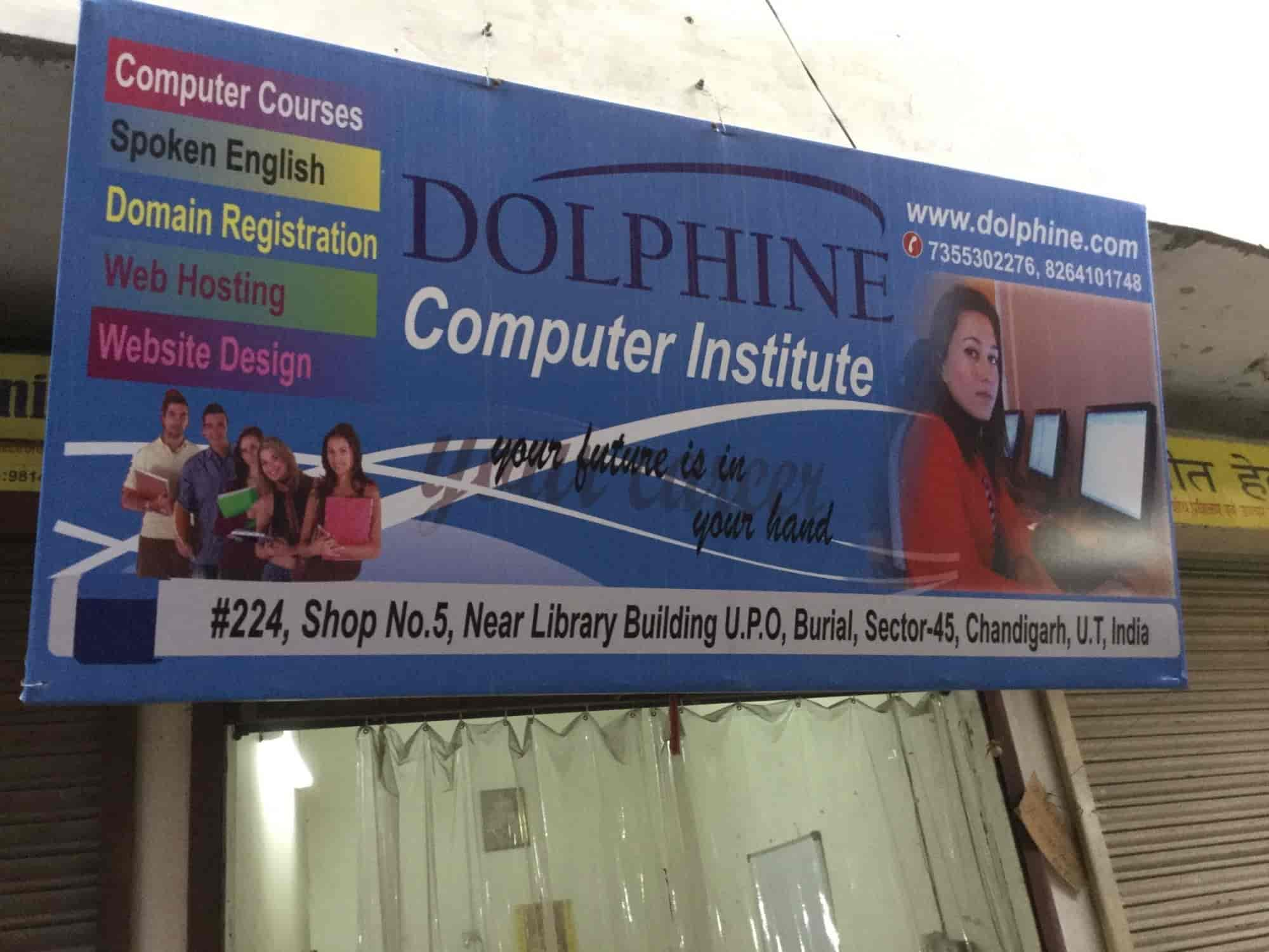 Dolphine Computer Institute, Chandigarh Sector 45 - Computer