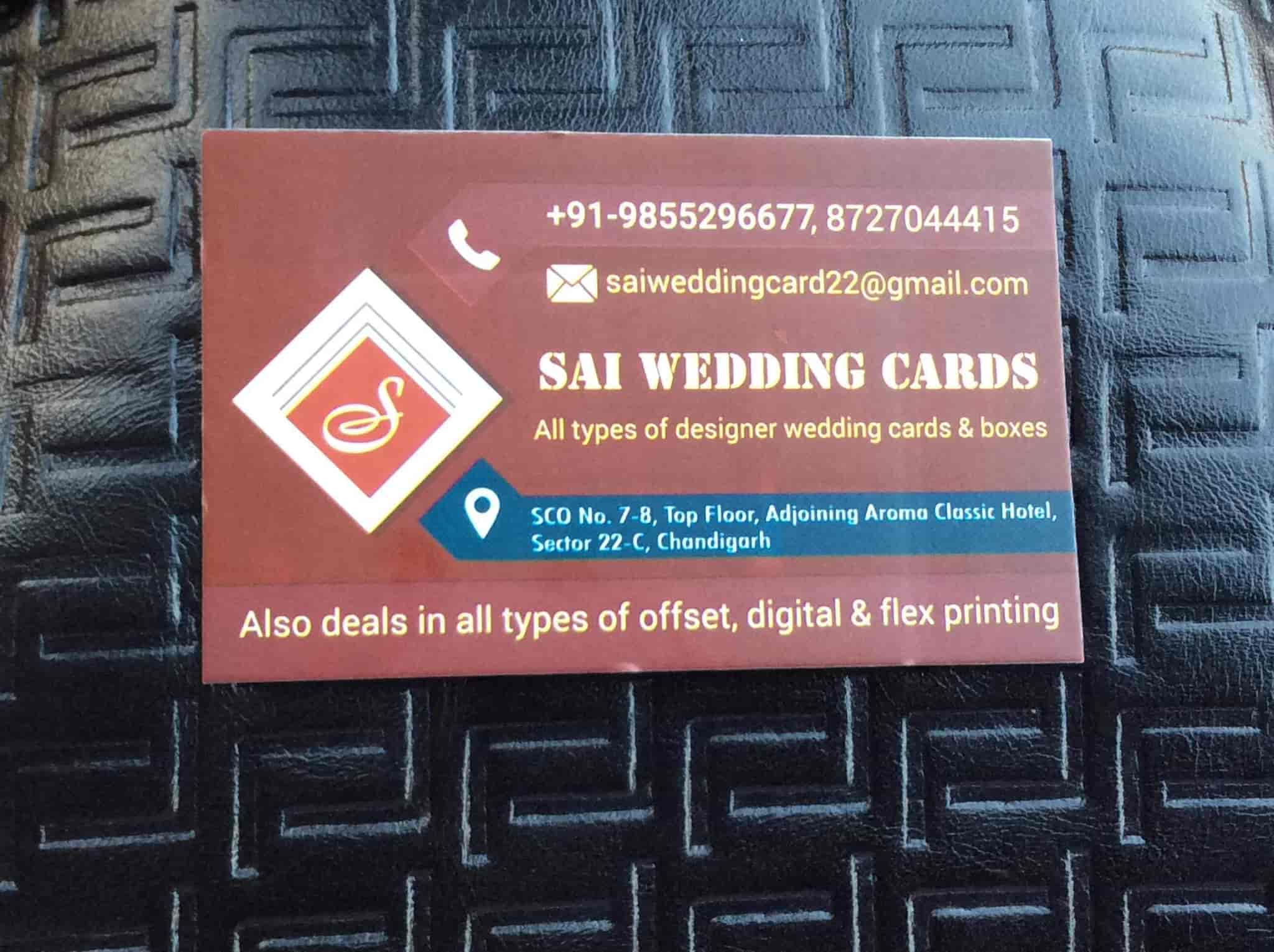 Sai Wedding Cards Photos Sector 22 Chandigarh Pictures Images