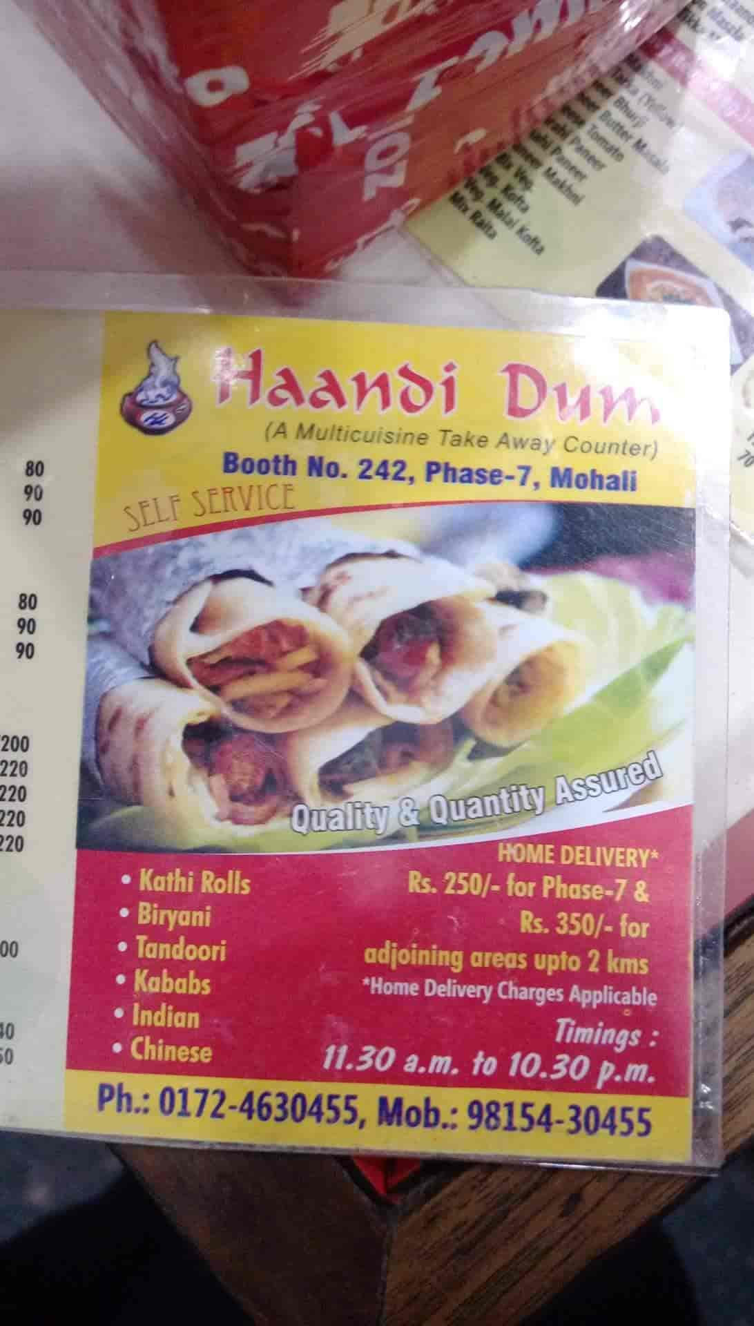 1a77a6ab9 ... Handi Dum Photos, Sector 61 Phase 7, Chandigarh - North Indian  Restaurants ...