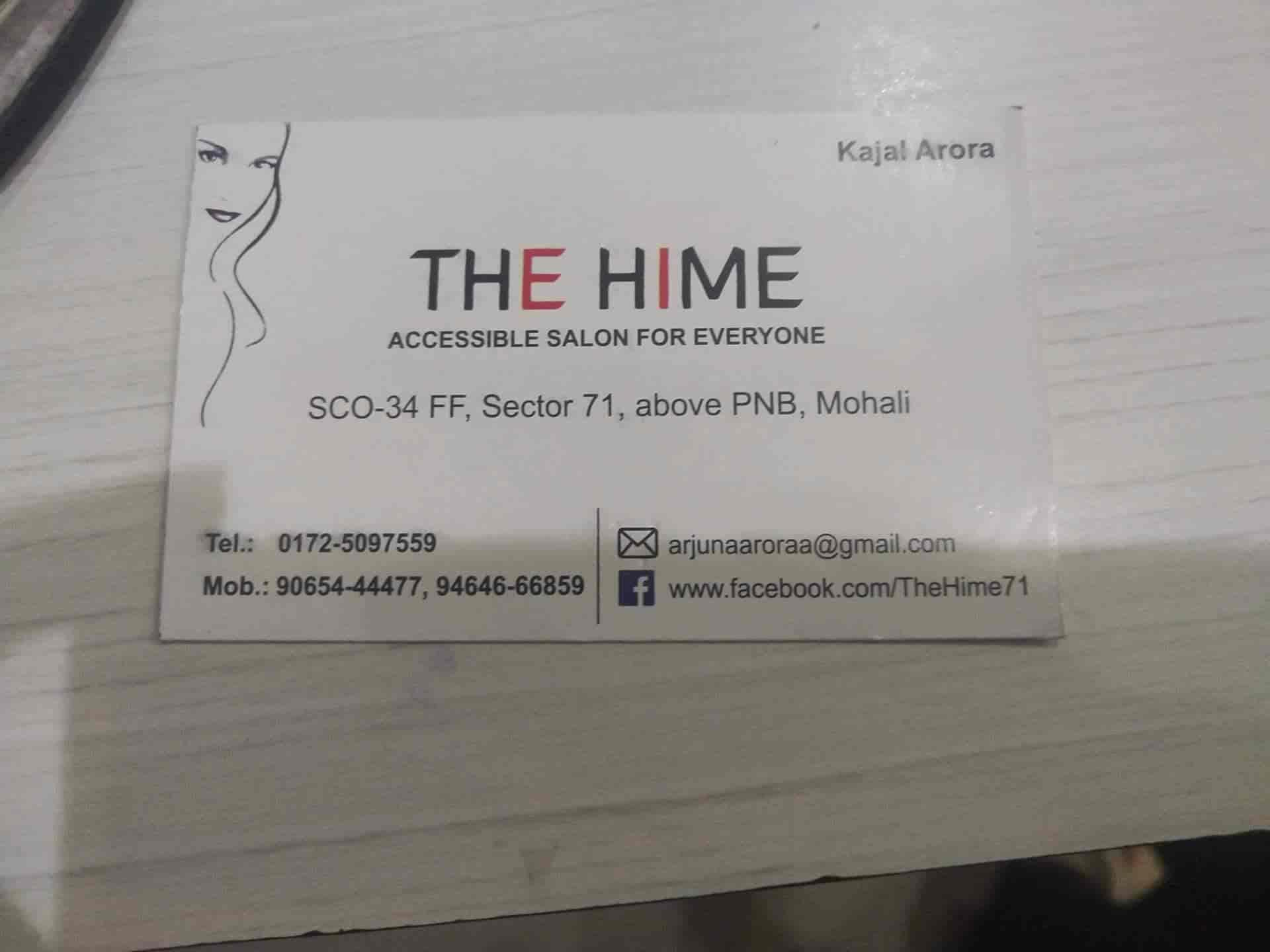 c1e998d91 ... The Hime Unisex Salon Photos, Sector 71, Chandigarh - Unisex Beauty  Parlours ...