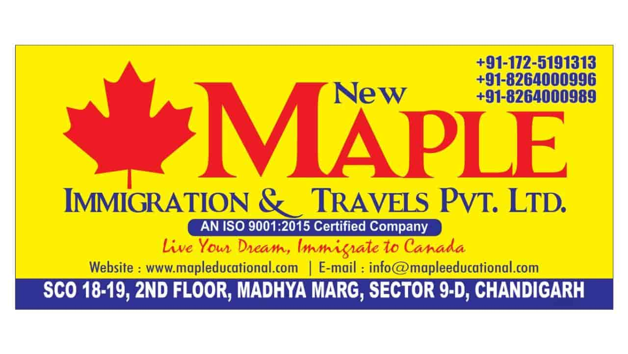 New Maple Immigration Travels Pvt Ltd, Sector 9d - Immigration Consultants  in Chandigarh - Justdial