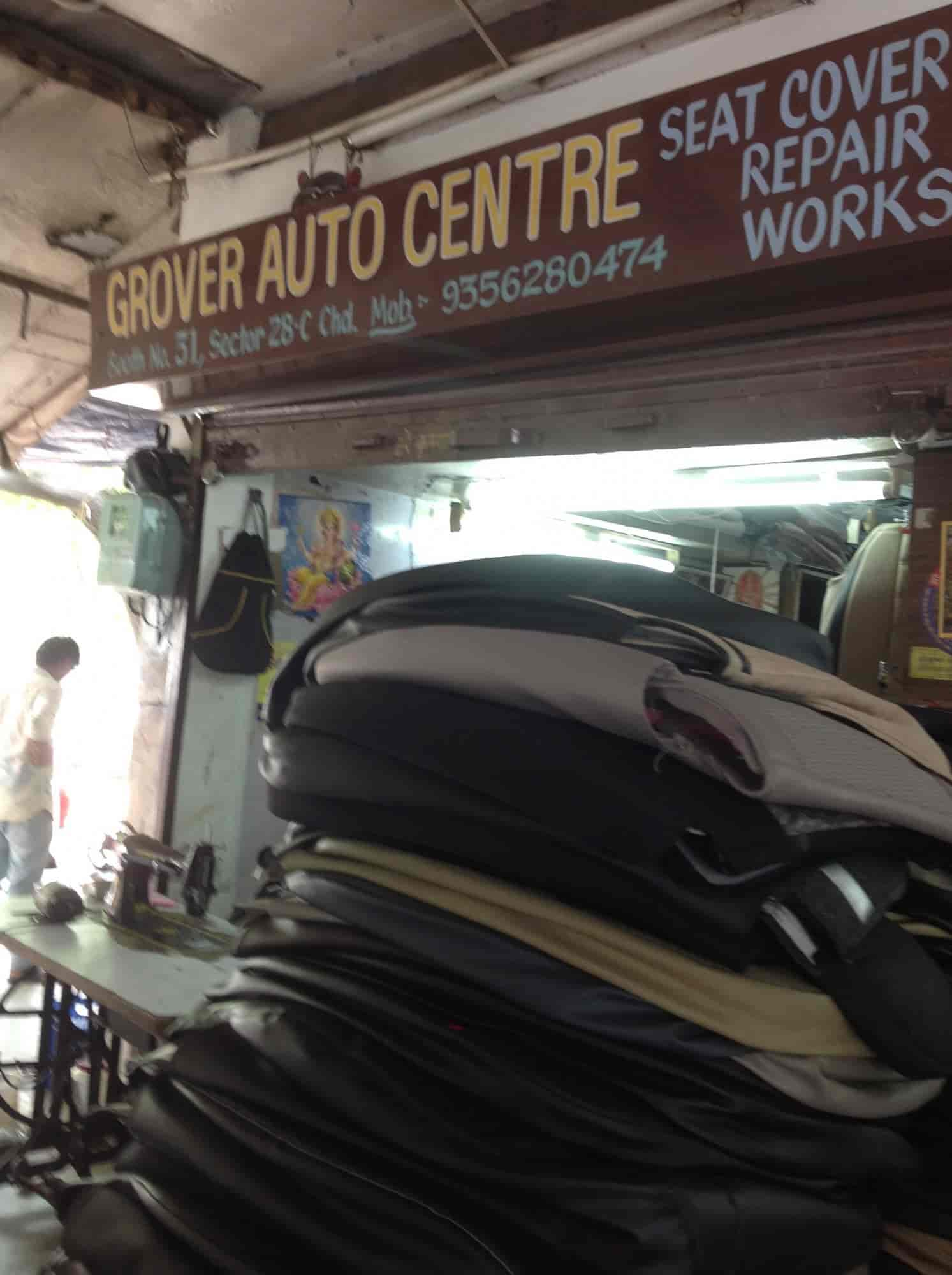 Outside View Of Grover Auto Centre Photos Sector 28c Chandigarh Car