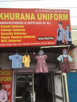 Khurana Uniforms, Kharar - School Uniform Manufacturers in