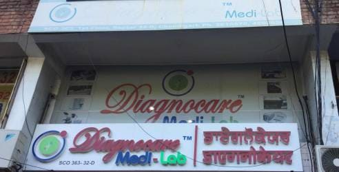 Diagnocare Medilab, Sector 32d - Blood Testing Centres in