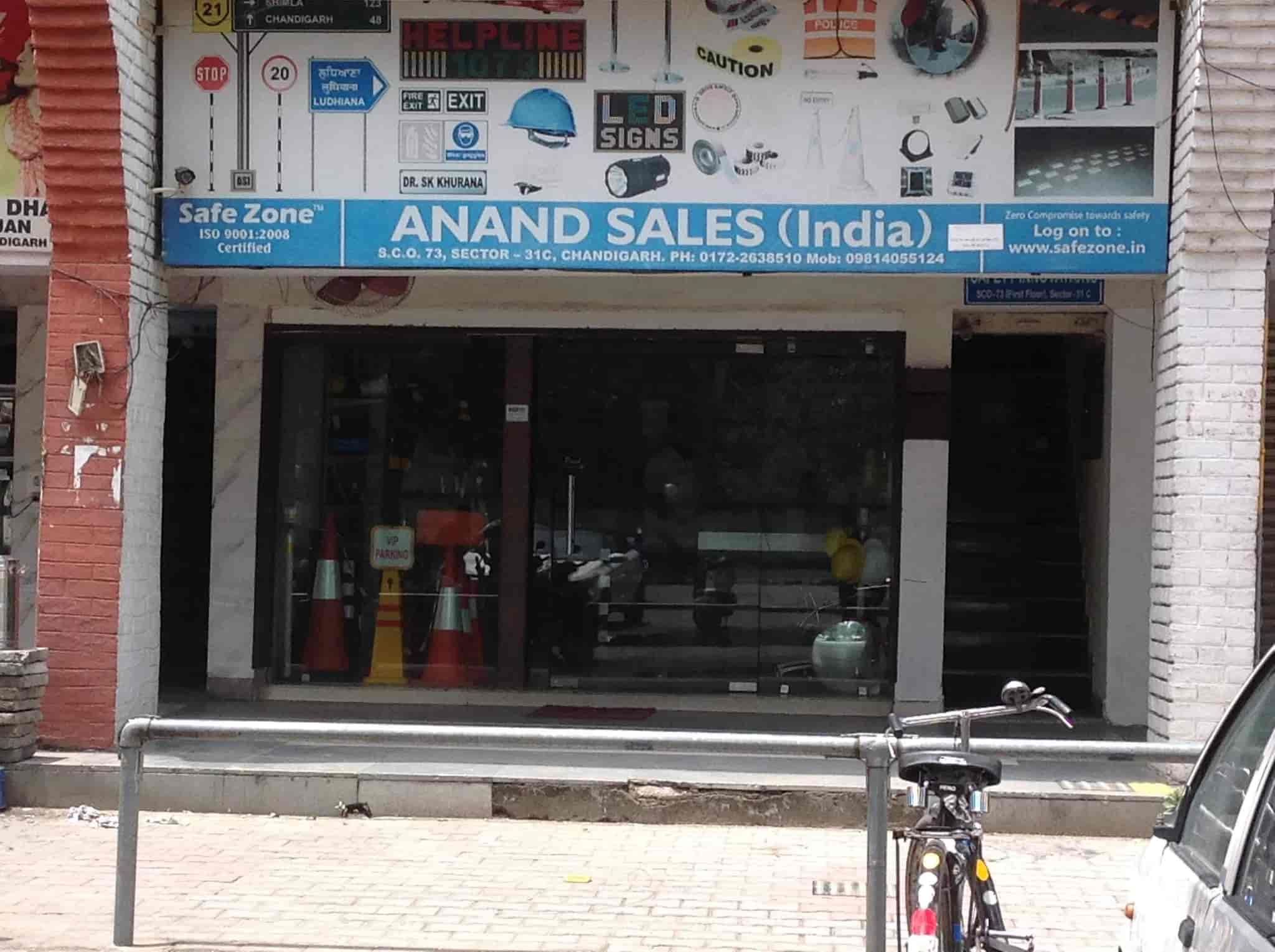 Anand Sales INDIA, Chandigarh Sector 31c - Safety Equipment Dealers