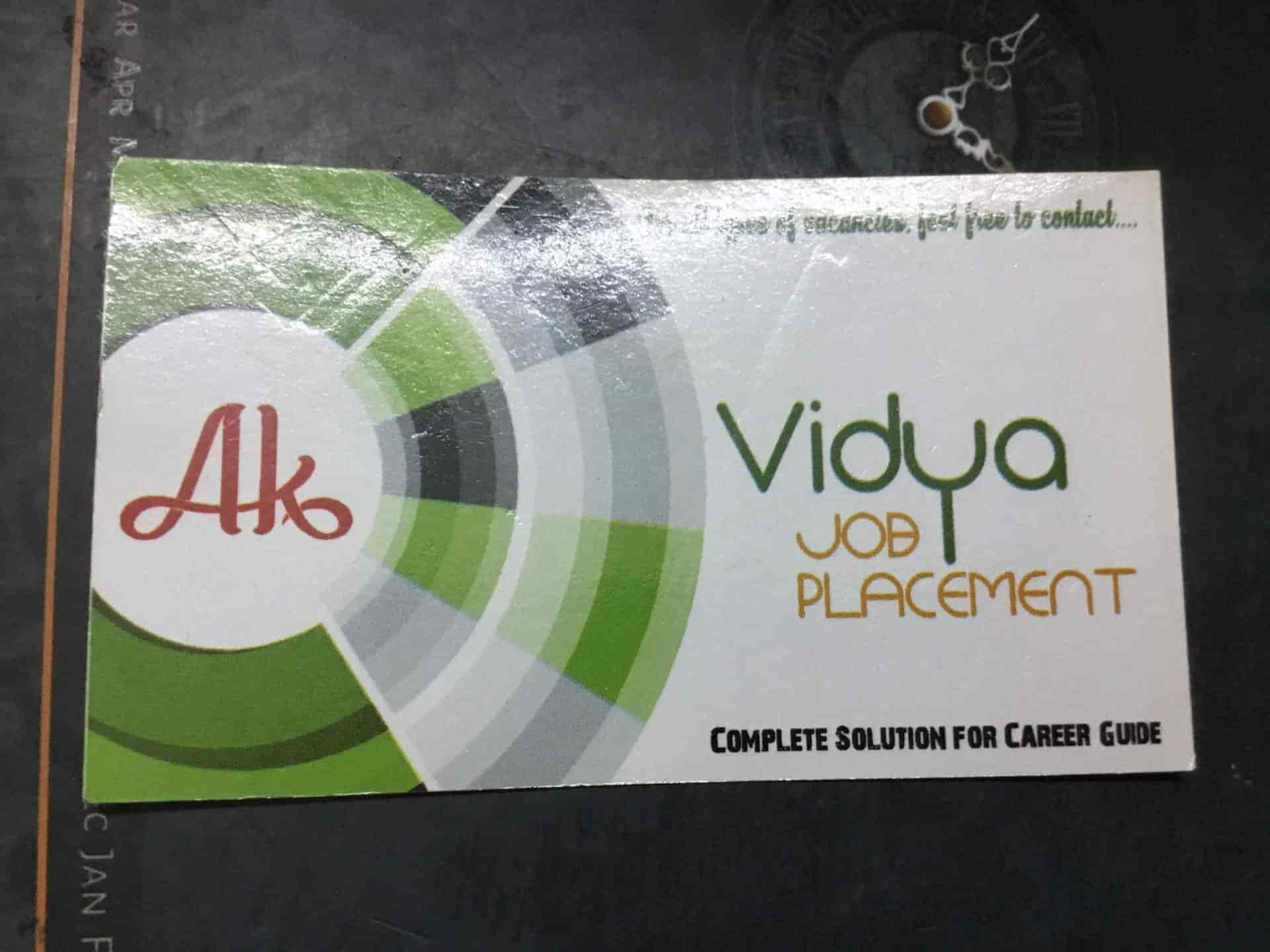 Vidya Job Placement, Beside Dabere Complex - Placement Services